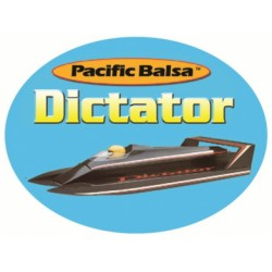 Dictator Boat - Balsa KIT
