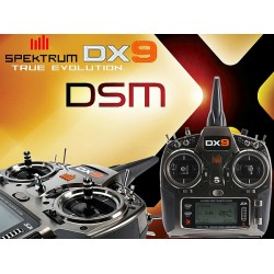 DX9 9-Channel DSMX Transmitter Only
