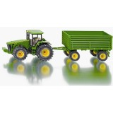1/50 John Deere Tractor with Trailer