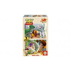 Toy Story Wooden Puzzles (2x50pc)